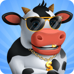 Idle Cow Clicker Games Idle Tycoon Games Offline 3.1.4 APK MOD Unlimited Money