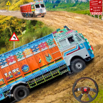 Real Indian Cargo Truck Simulator 2020 Offroad 3D 1.0 APK MOD Unlimited Money