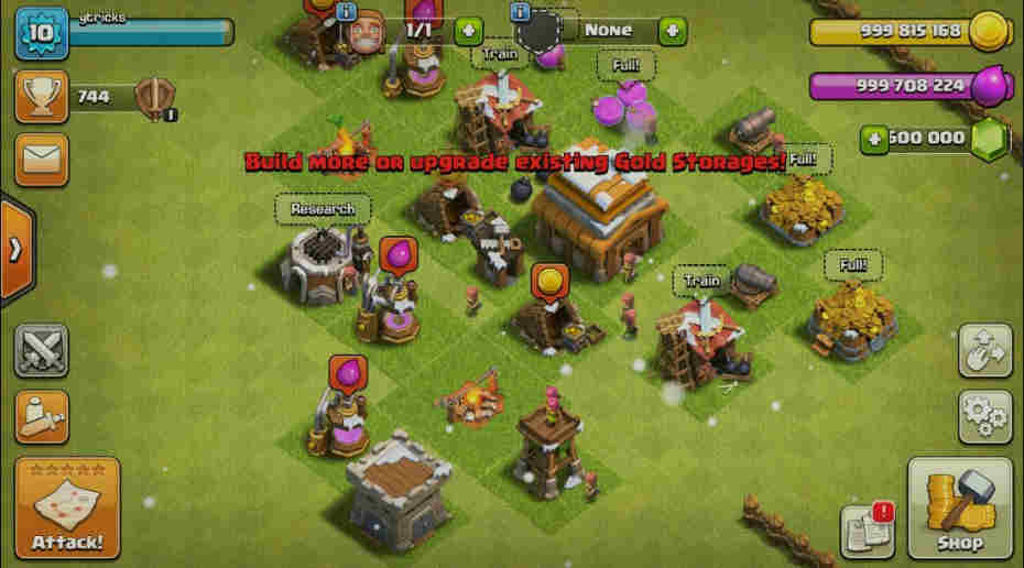 Clash Of Clans Hack App