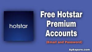 Hotstar Premium Account 2020