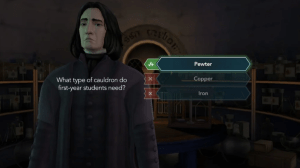 Harry Potter Hogwarts Mystery a few procedures to head the class 5