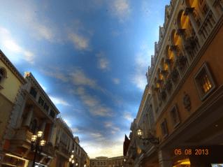 Venetian Hotel Sky Roof