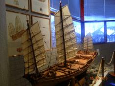 Boat model 1