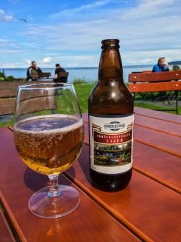 """Well, fika normally consists of coffee and some baked goods but we'd never say """"no"""" to a local cold beer."""