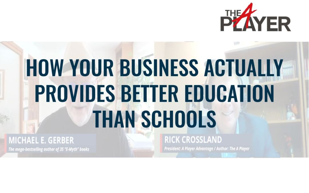 How your Business Actually Provides Better Education than Schools