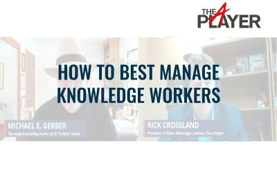 How to Best Manage Knowledge Workers