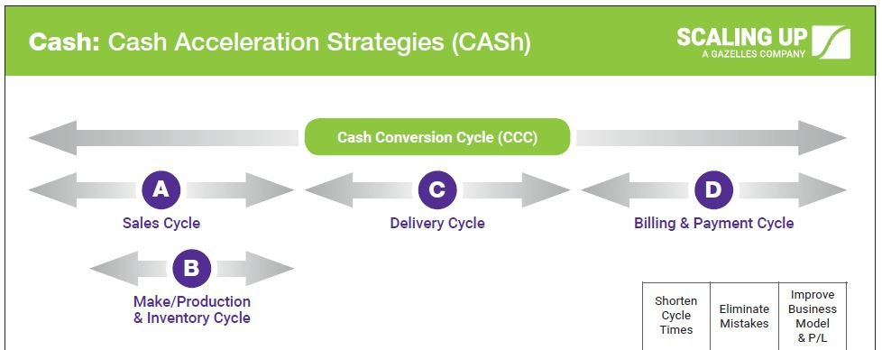 Cash Acceleration Strategies Infographic