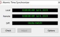 s atomic time synchronizer