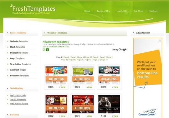 Jual Templete Website