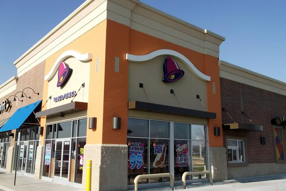 Bay River Marketplace Taco Bell