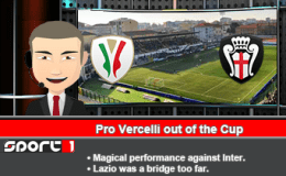 224: Pro Vercelli out of the Cup