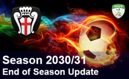 2030/31 – End of Season Update