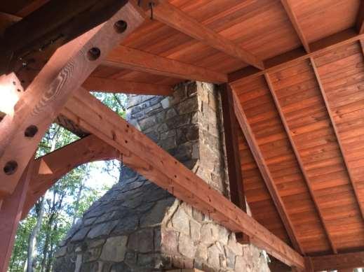 custom wood pavilions in berks county pa