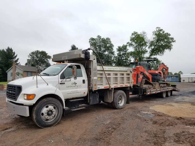 landscape excavation equipment in Lancaster County, PA