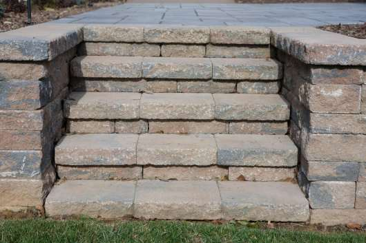 natural stone stairs in Sinking Springs, PA