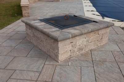 outdoor fire pit in Lancaster, PA