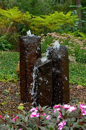 outdoor water feature example