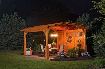 custom wood pergolas in berks county pa