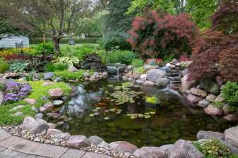 backyard pond in lancaster pa