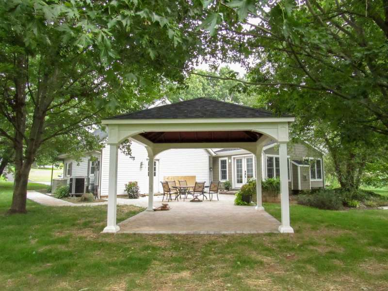 custom pavilions in chester county pa