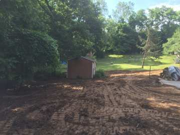 land clearing contractor project in Chester County, PA