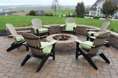 outdoor backyard fire pit Lancaster County, PA