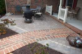 brick pathway in Lancaster, PA