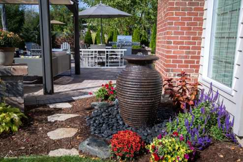 outdoor water feature in lancaster pa