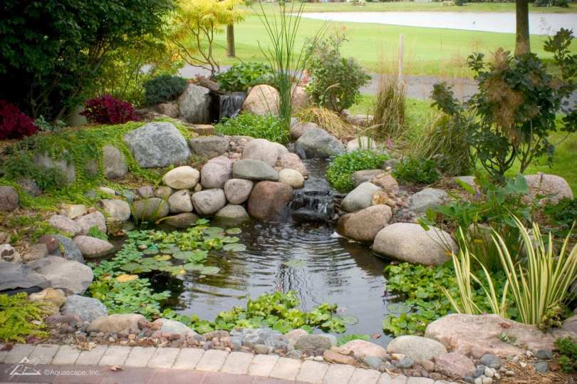 outdoor water pond in lancaster pa