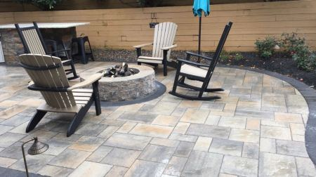 outdoor fire pit Chester County, PA