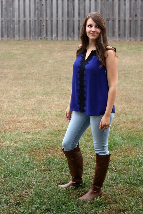 Stitch Fix Review #9 by Missouri style blogger A + Life