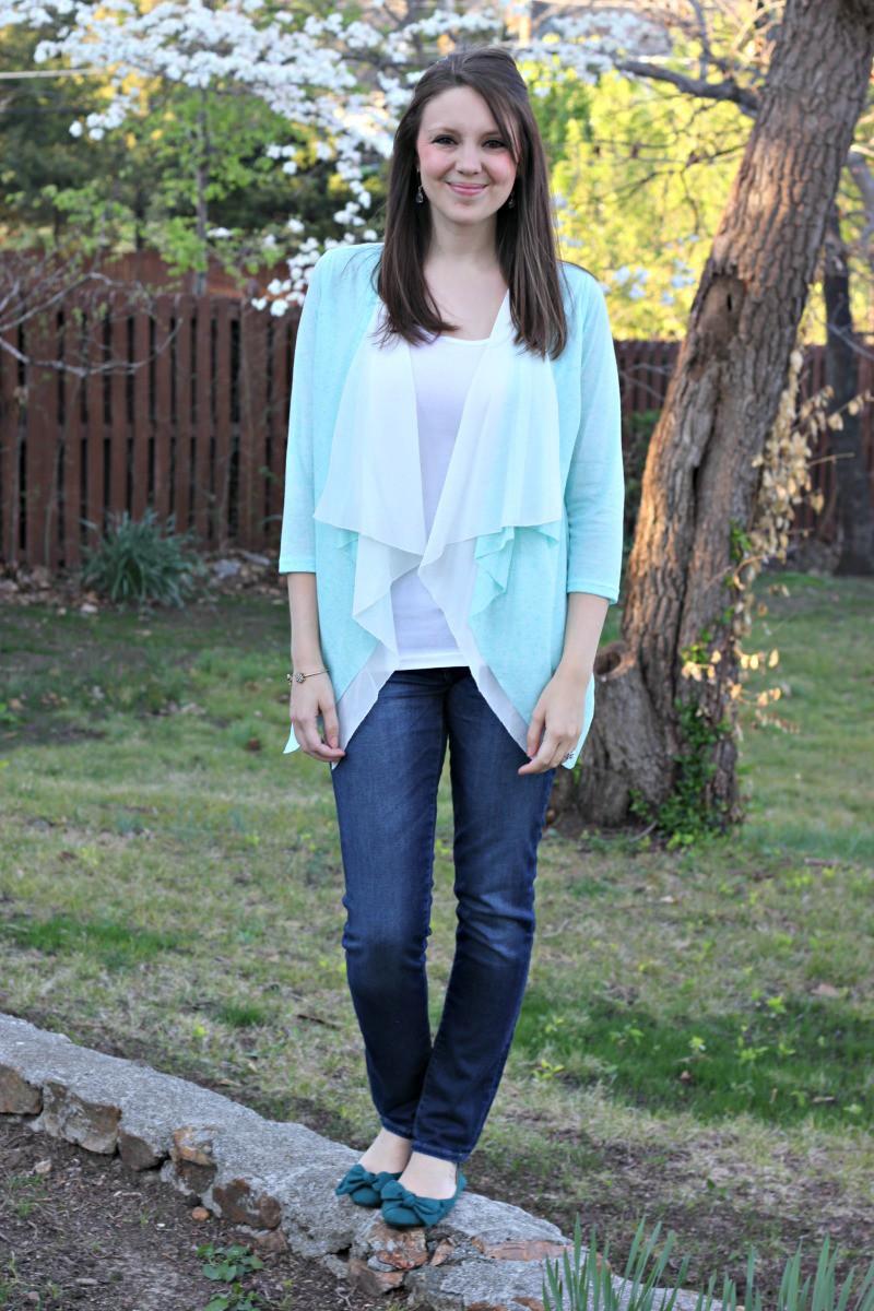 Pinson Drape Cardigan Brixon Ivy - Stitch Fix Review #12 by Missouri style blogger A + Life