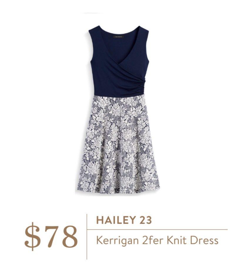 Stitch Fix Hailey 23 Knit Dress