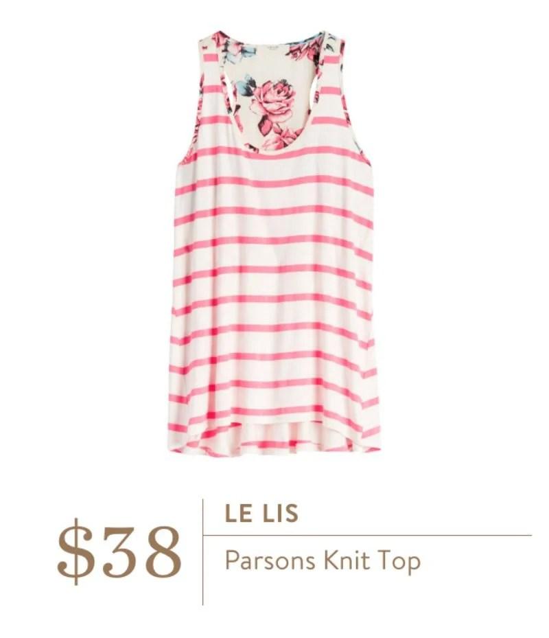 Stitch Fix Le Lis Parsons Knit Top