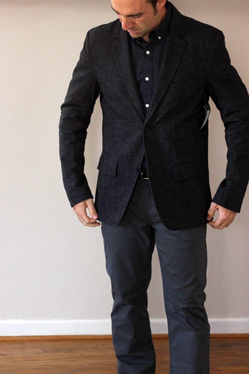 Stitch Fix For Men Greenfield Textured Cotton Blazer