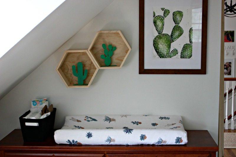 Cactus Baby Nursery Reveal Showit Blog