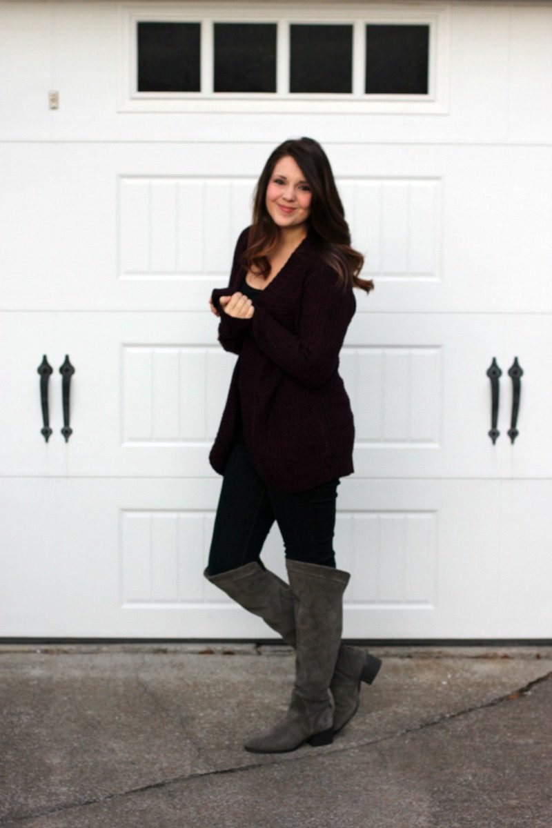 Stitch Fix Reveal, Stitch Fix, Stitch Fix Sweater, Stitch Fix Cardigan, Burgundy Cardigan, #stitchfix #stitchfixsweater #cardigan