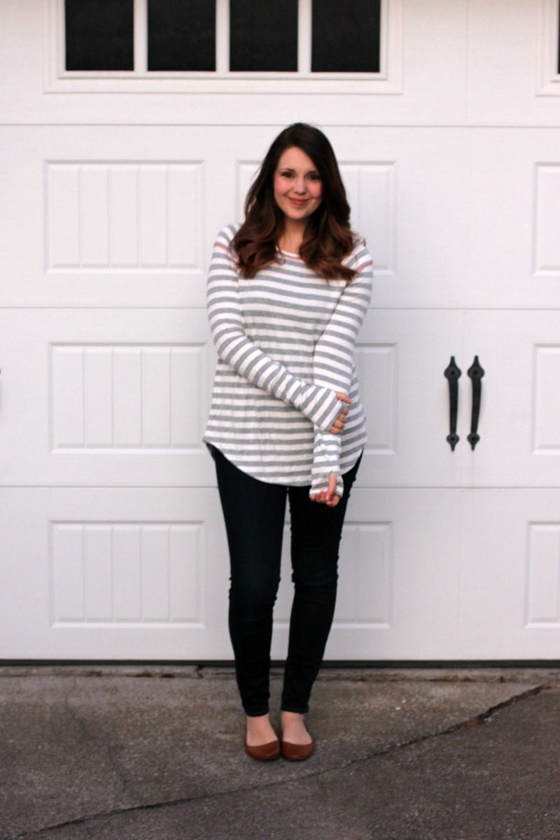 Stitch Fix Top, Stitch Fix Shirt, Stitch Fix Striped Shirt, Striped Shirt, Casual Stitch Fix #stitchfix #casualstitchfix #stripedtop