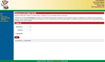 patient-portal-home-page