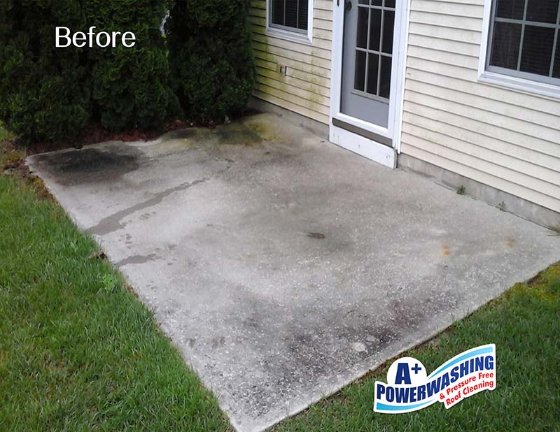 power washing roof cleaning