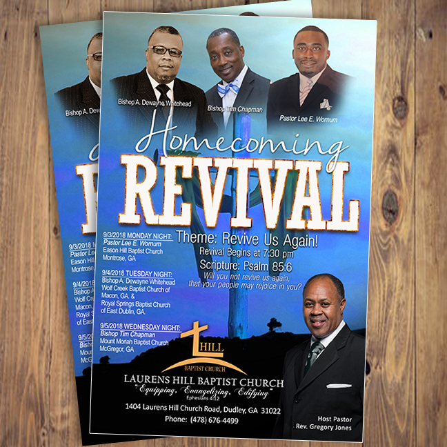 Homecoming Revival Laurens Hill Baptist Church A Plus