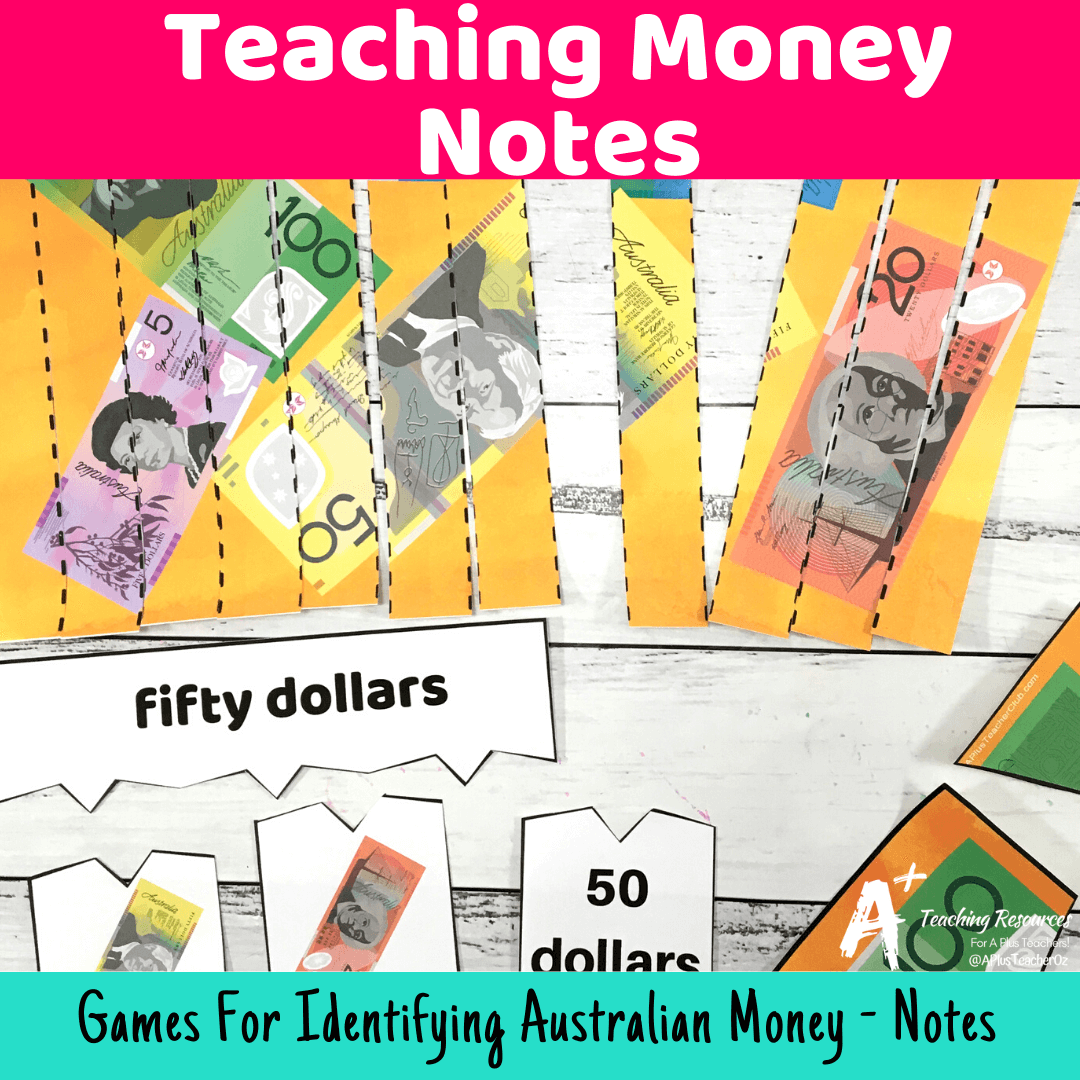 Australian Money Printables Games Amp Worksheets Notes