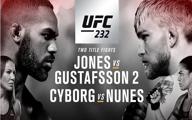 UFC 232 Results
