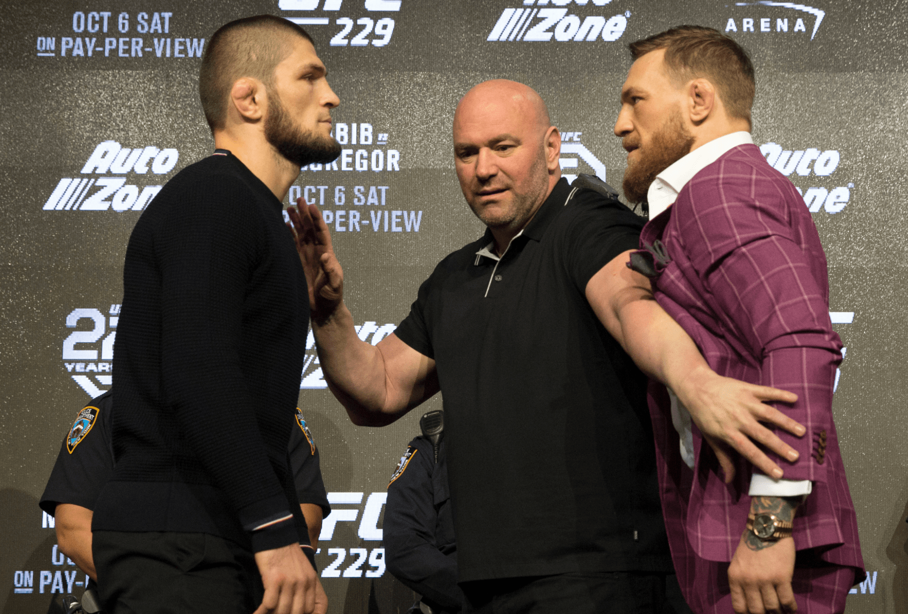 Dana White Expects Khabib vs Conor Rematch In 2019