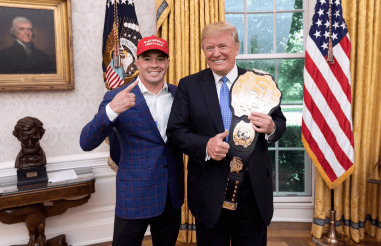 Colby Covington Talks Tyron Woodley, Ali Abdelaziz and Dana White