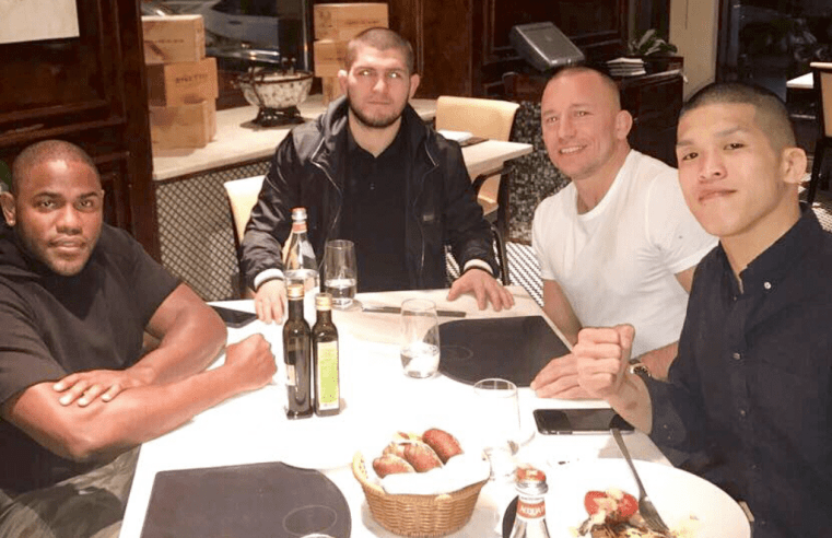 UFC: Khabib Wants To Fight Tony Ferguson And Then GSP
