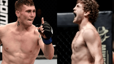 Darren Till And Ben Askren Trade Blows