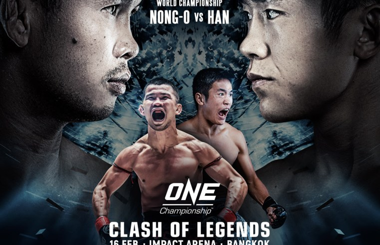 Muay Thai World Title Fight Announced For ONE: Clash Of Legends