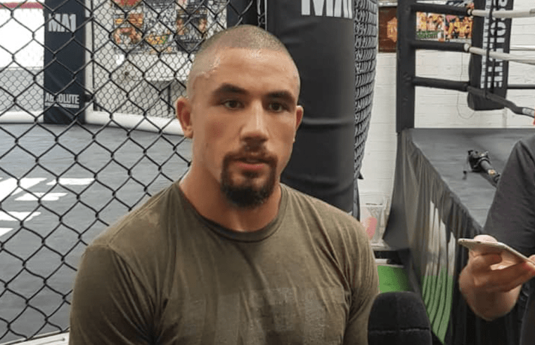Robert Whittaker On A Fight With Jon Jones: 'That's A Great Fight'