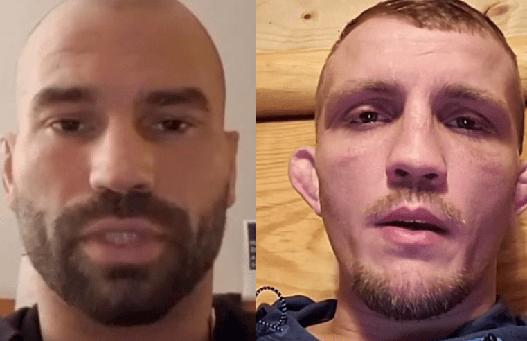 Artem Lobov And Jason Knight Have Heated Exchange
